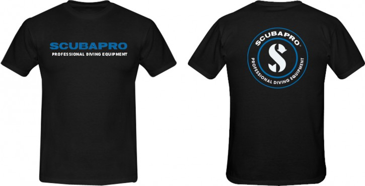 Scubapro T-Shirt Black