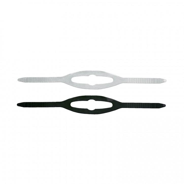 Maskenband Universal Transparent