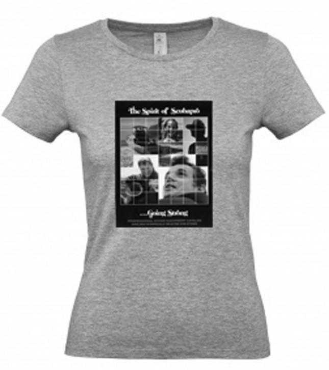 Scubapro T-Shirt Spirit of Grey Woman