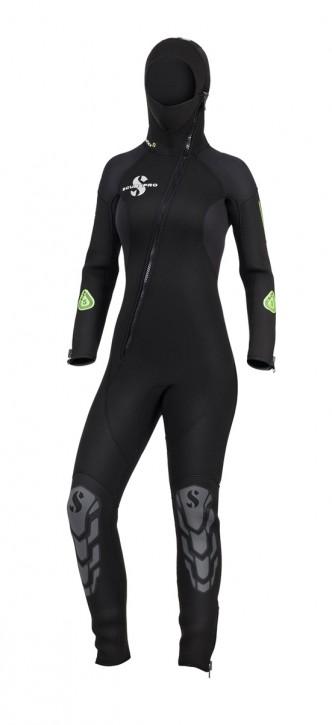 Scubapro Oneflex Hooded Front Zip 7.0 Woman