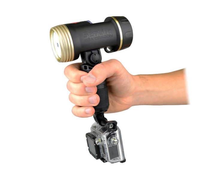 Sealife 1/4 20 Adapter Videolight für GoPro