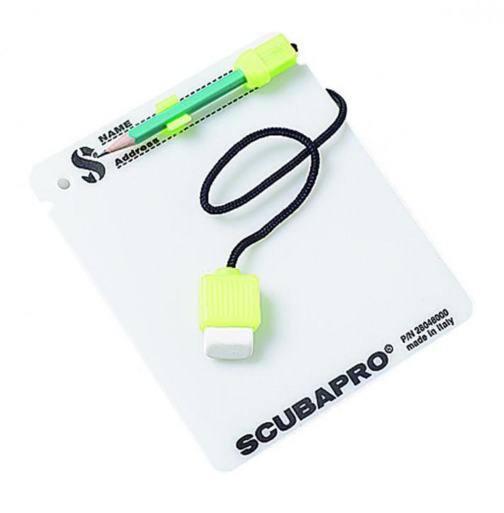 Scubapro Schreibtafel mit Bleistift