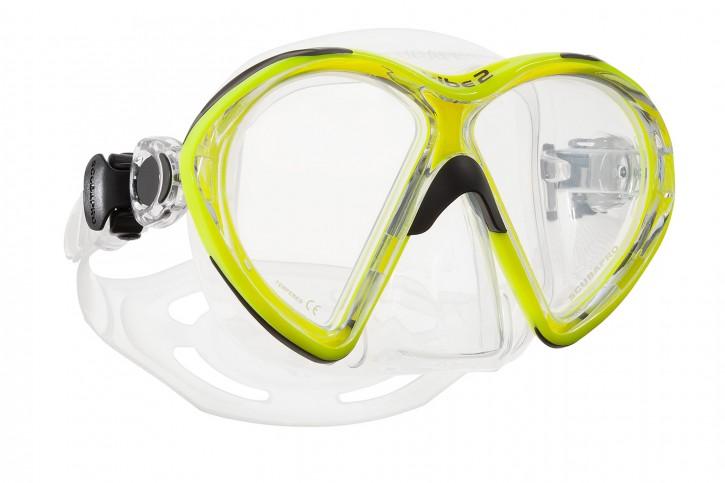 Scubapro VIBE2 Maske Gelb - Transparent