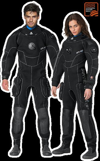 Waterproof D10 PRO ISS Man