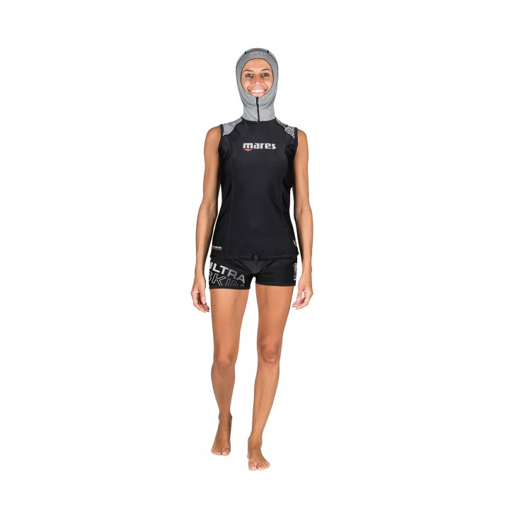Mares Ultra Skin Sleeveless with Hood Damen