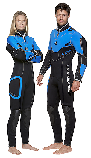 Waterproof SD4 Semi Dry Man