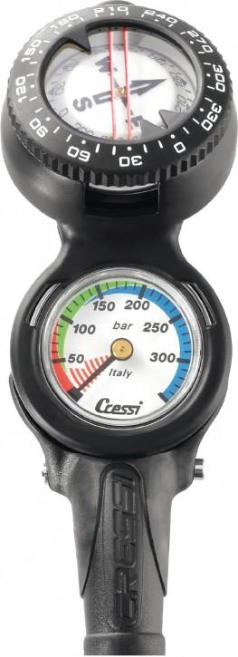 Cressi Konsole CP2 Kompass + Finimeter