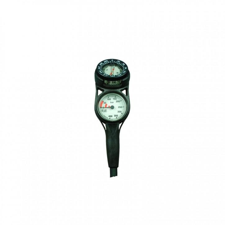 Polaris Zweierkonsole Slim Line mit Kompass
