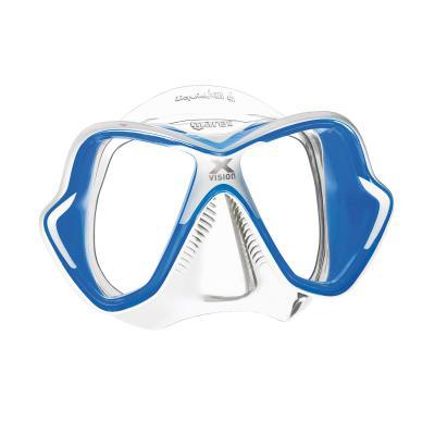 Mares X-Vision Ultra LiquidSkin Blau - Transparent