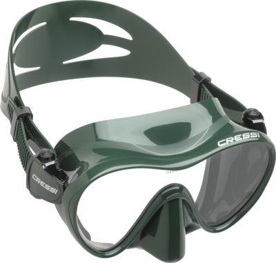 Cressi F1 Maske Grün