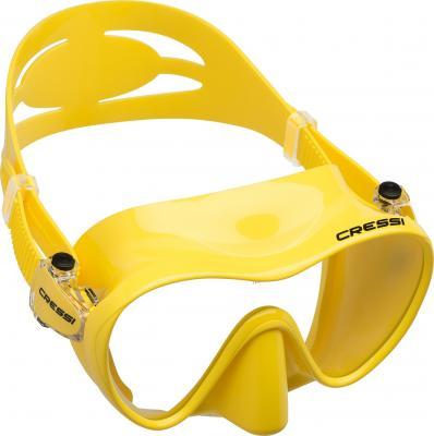 Cressi F1 Maske Gelb