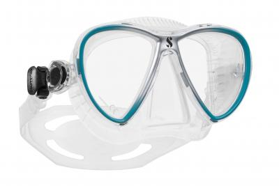 Scubapro SYNERGY TWIN TRUFIT Clear - Türkis