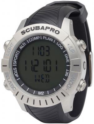 Scubapro Mantis 2 Schwarz / Mit LED Sender & Brustgurt