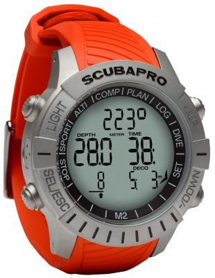 Scubapro Mantis 2 Orange / Ohne LED Sender & Brustgurt
