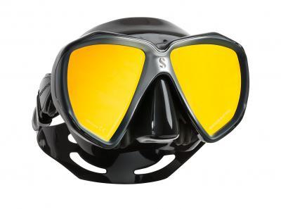 Scubapro Spectra Maske Schwarz - verspiegelt