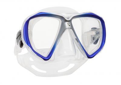 Scubapro Spectra Maske Blau/Silber - Transparent