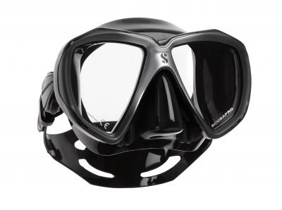 Scubapro Spectra Maske Schwarz/Silber - Schwarz