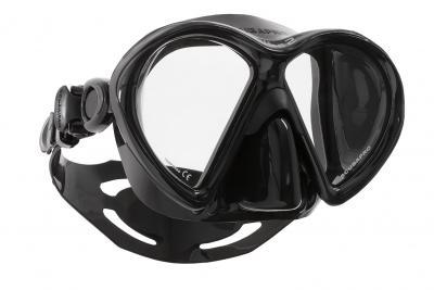 Scubapro VIBE2 Maske Schwarz-Schwarz