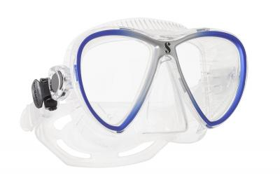 Scubapro Synergy Twin Trufit Blau/Silber - Transparent