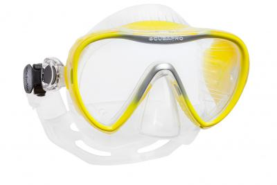 Scubapro Synergy 2 Gelb - Transparent