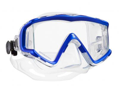 Scubapro CRYSTAL VU Blau - Transparent